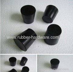 Rubber plug and cover