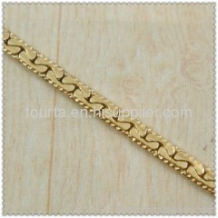 gold plated necklace FJ 1420013 IGP