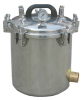 LPG Heated Portable Pressure Steam Sterilizer