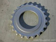 Steel forged parts for wheel gear