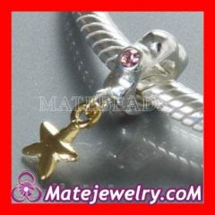 european silver star dangle