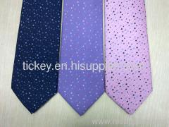 silk woven colour necktie