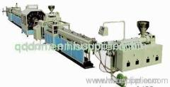 PVC hose production line/plastic pipe making machine