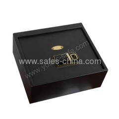 Furniture safe top opening