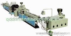 PVC braided soft pipe production line/PVC hose making unit