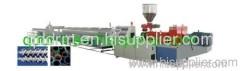 plastic pipe extrusion machine/plastic pipe production unit