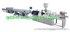 PVC double pipe production line/PVC double pipe making unit