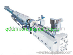 PE pipe production line/PE pipe extrusion unit