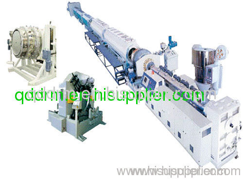 extrusion line for PE pipe