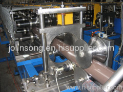 Downspouts forming machine