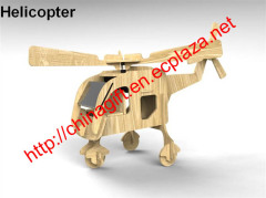DIY Wooden Solar Energy Helicopter