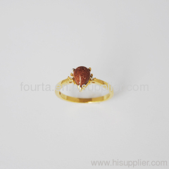 18k gold plated ring FJ 1320339