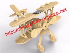 DIY Solar Wooden Plane