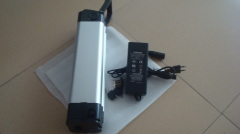 36V 10Ah LiFePO4 350w rechargeable electric battery pack