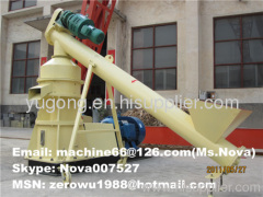 Wood sawdust briquette making machine