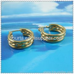 18k gold plated earring 1210324