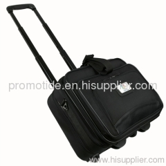 600D Polyester Rolling Wheeled Laptop Bag