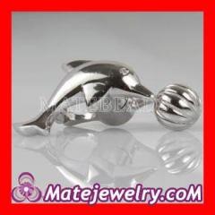 european silver dolphin clasp
