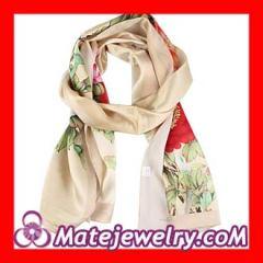 cheap long silk scarf