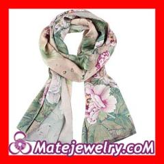 long silk scarves for women