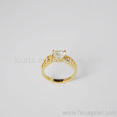 18k golden plated ring