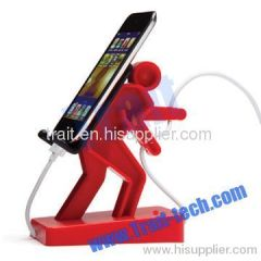 NEW Boris Cell Mate Holder for Mobile Phone Music Player (Red)
