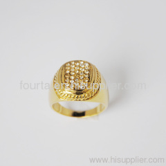 18k gold plated ring for lady FJ 1320357