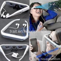 2011 New 60 Inch Virtual Screen Video Glasses for iPhone/iPad/iPod