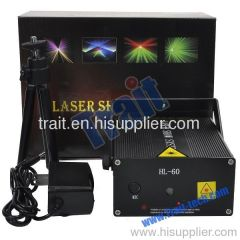 Holographic Laser Star Projector Stage DJ Show Lighting(HL-60)