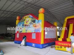 Spongbob bounce house moonwalks