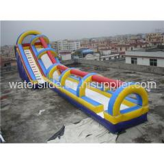 Big water slip and slide
