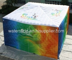 Sanya inflatable exhibiton tent,inflatable advertising tent