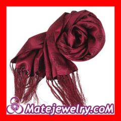 fringed silk scarf Wholesale