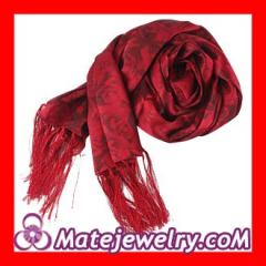 fringed silk scarves Wholesale