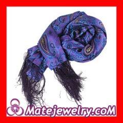 fringed silk scarves shawls