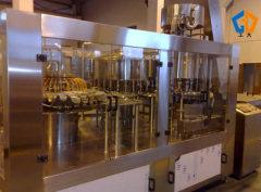 Pressure filling capping 3-in-1 unit machine