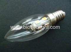 SMD led light smd lamps 7pcs 5050smd led candle bulbs