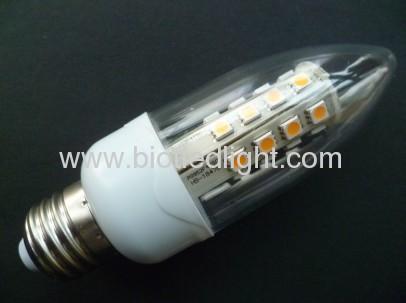 SMD led light smd lamps 27pcs 5050smd led candle bulbs