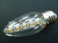 SMD led light smd lamps 16pcs 5050smd led candle bulbs