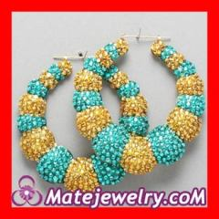 Cheap bamboo earrings wholesale