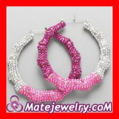 bamboo earrings cheap Wholesale