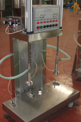 Keg filling machine with double heads