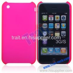 Frosted Matt Hard Case Shell for iPhone 3G 3GS(Hot Pink)