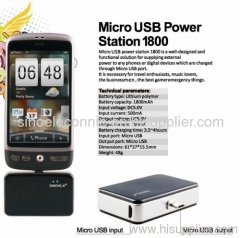 Micro USB power station