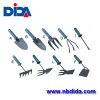 Low carbon steel blade with powder coating plastic handle garden tools