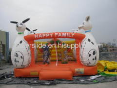 bouncing around inflatables