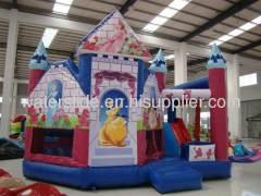 Disney princess cheap inflatable bounce house