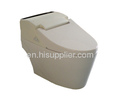one-piece intelligent integrated toilet seat