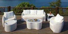 Garden Furniture Rattan Sofa
