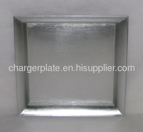 Square charger plates/square charger trays/square plastic plates/pp ...